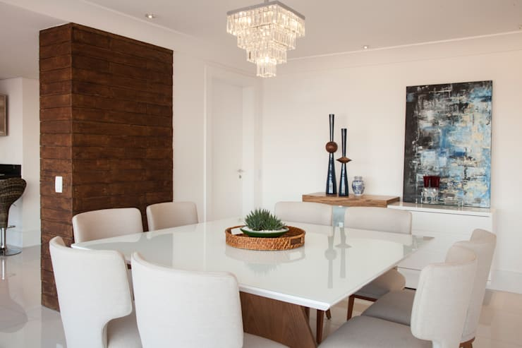 Comedores de estilo  por Ahph Arquitetura e Interiores, Moderno