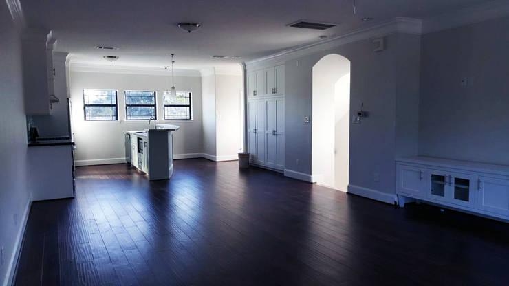 Living room by Banda & Soldevilla Arquitectos,
