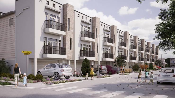 現代房屋設計點子、靈感 & 圖片 根據 Banda & Soldevilla Arquitectos 現代風