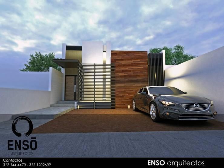 CASA FORTEZZA: Casas de estilo  por Enso Arquitectos