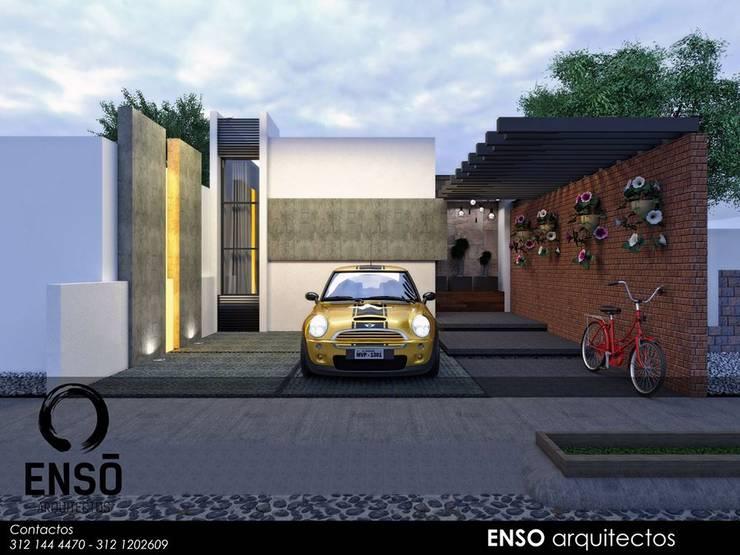 CASA MORGANA: Casas de estilo  por Enso Arquitectos