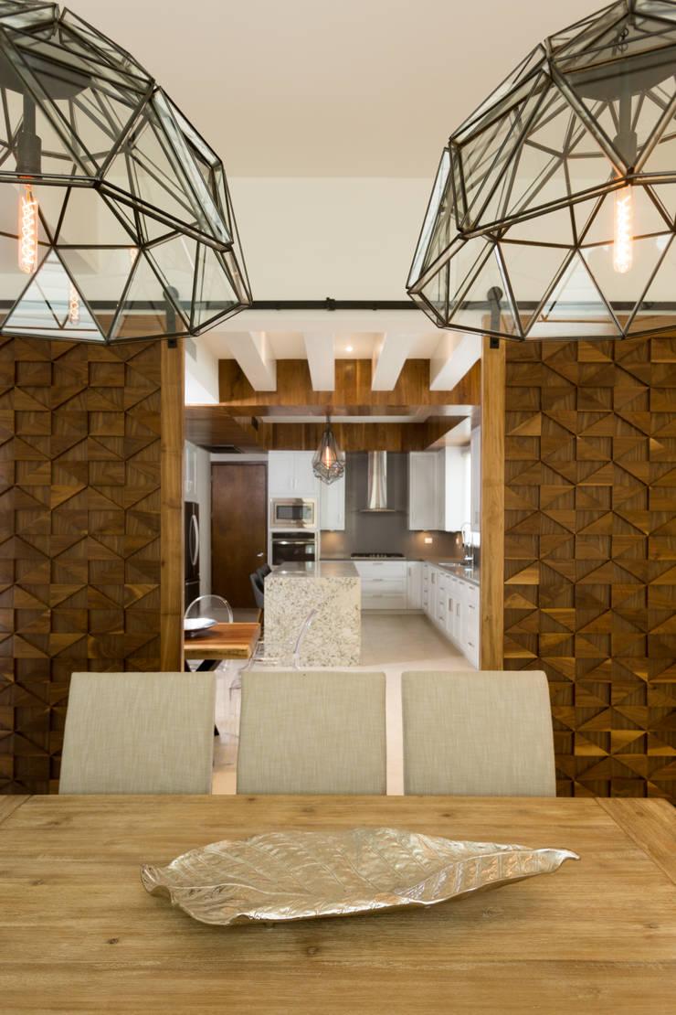 modern Kitchen by TAMEN arquitectura