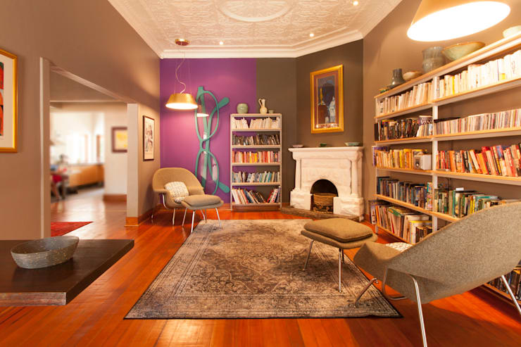 House B Jozi:  Study/office by Redesign Interiors