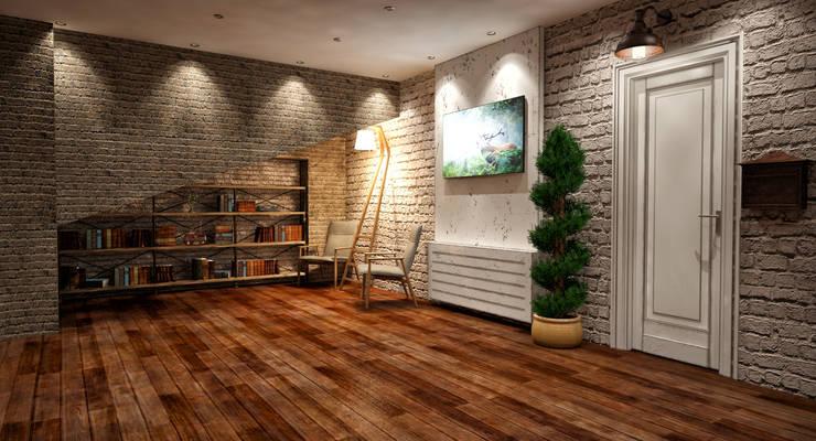 m. rezan özge özdemir – Butik Otel Giriş ve Spa Konsept Çalışması:  tarz Oteller, Eklektik