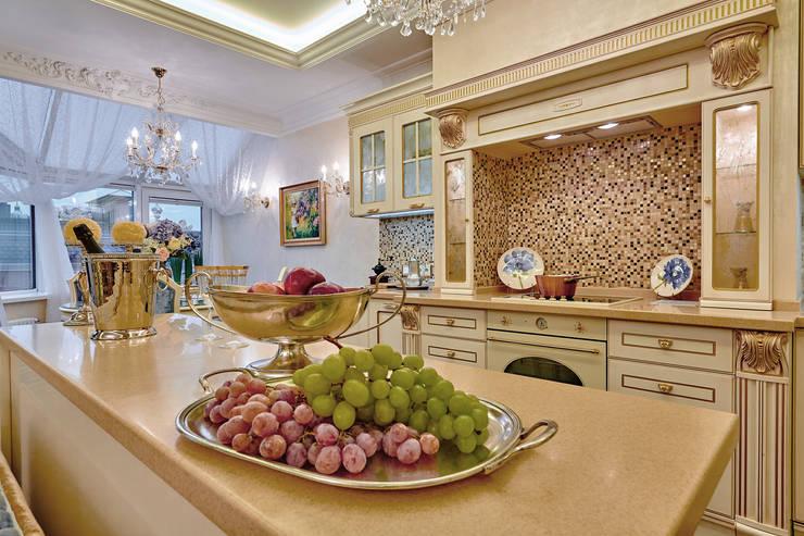Сливки общества в ЖК Золотые ключи: Кухни в . Автор – Дизайн бюро Оксаны Моссур