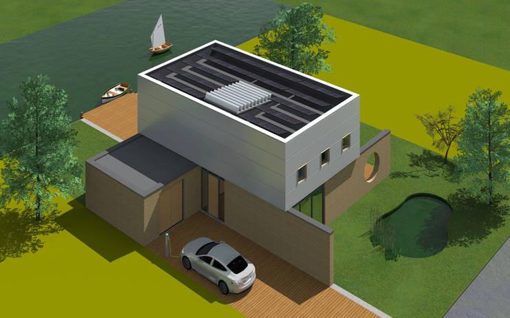 Villa 1:  Huizen door De E-novatiewinkel