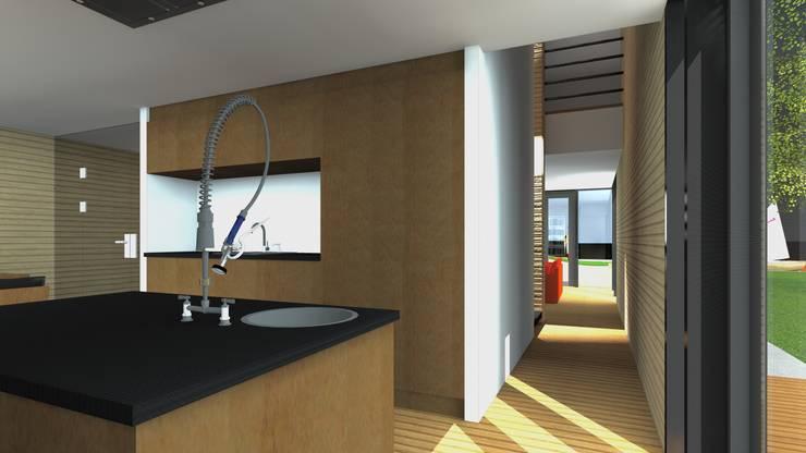 Villa1 doorzicht:  Huizen door De E-novatiewinkel