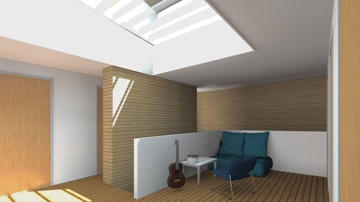 Villa 1 centrale ruimte:  Huizen door De E-novatiewinkel