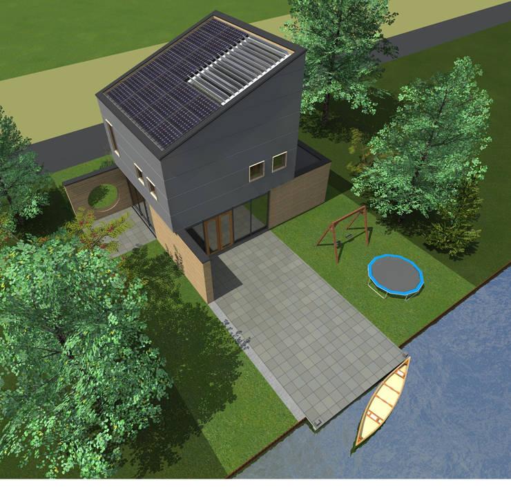 Villa 2:  Huizen door De E-novatiewinkel