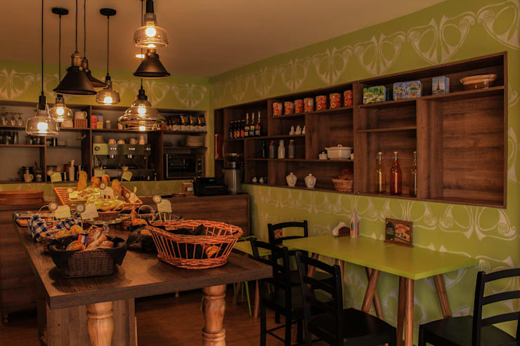 Gastronomia in stile  di santiago dussan architecture & Interior design