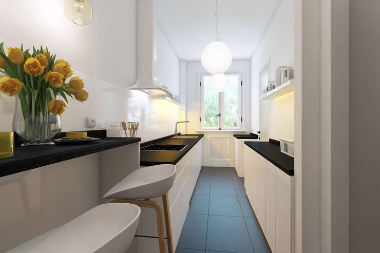 Cocinas de estilo  por Agence KP
