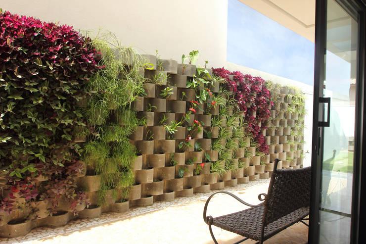 庭院 by Taguá Arquitetura+Design