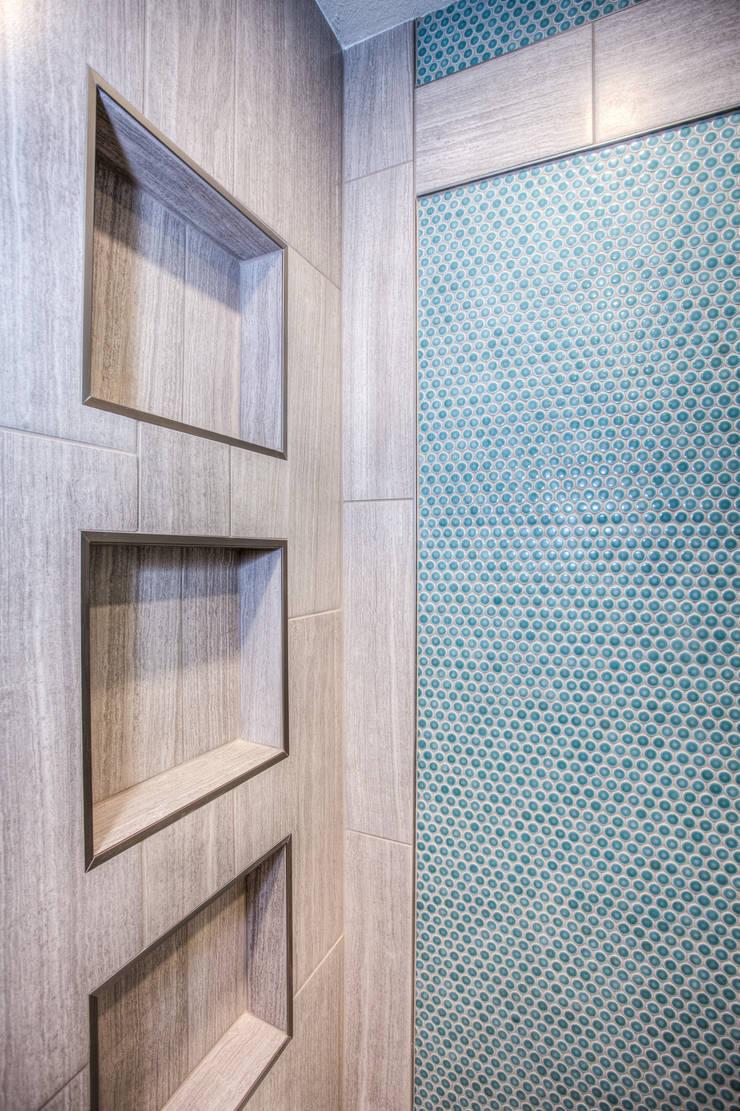 Aqua Ambiance : modern Bathroom by Dahl House Design LLC