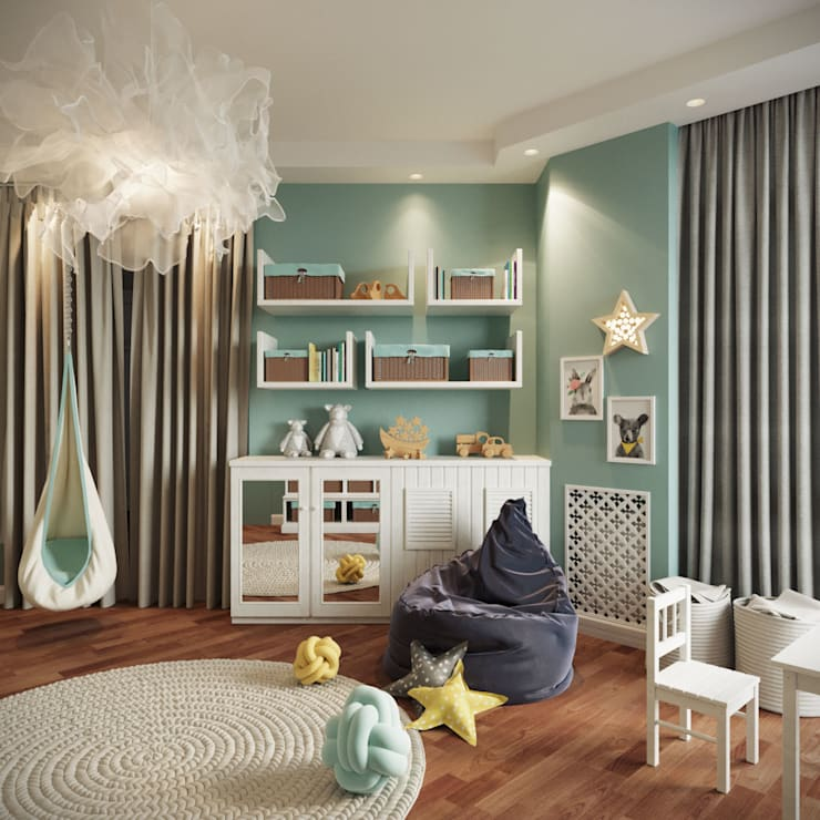 Nursery/kid's room by rudakova.ru