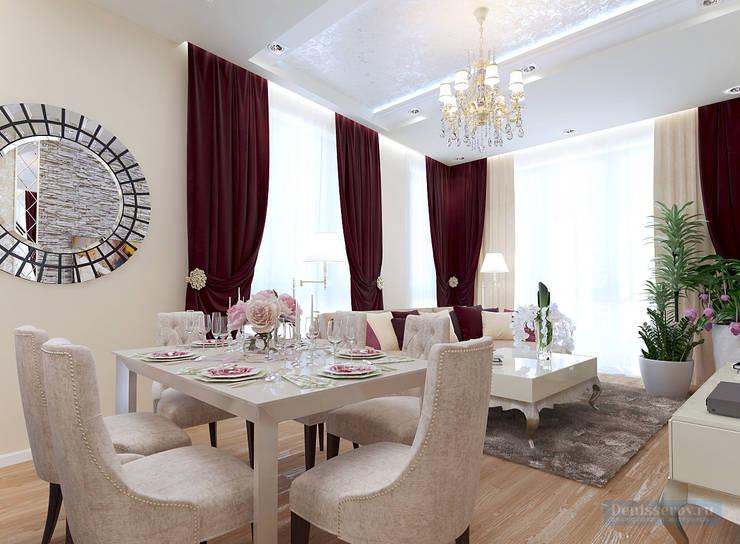 Dining room by Студия интерьера Дениса Серова, Classic