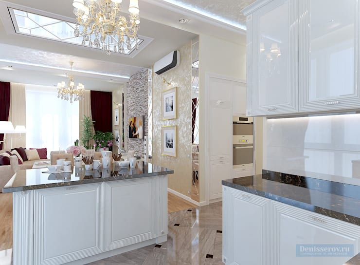 Classic style kitchen by Студия интерьера Дениса Серова Classic