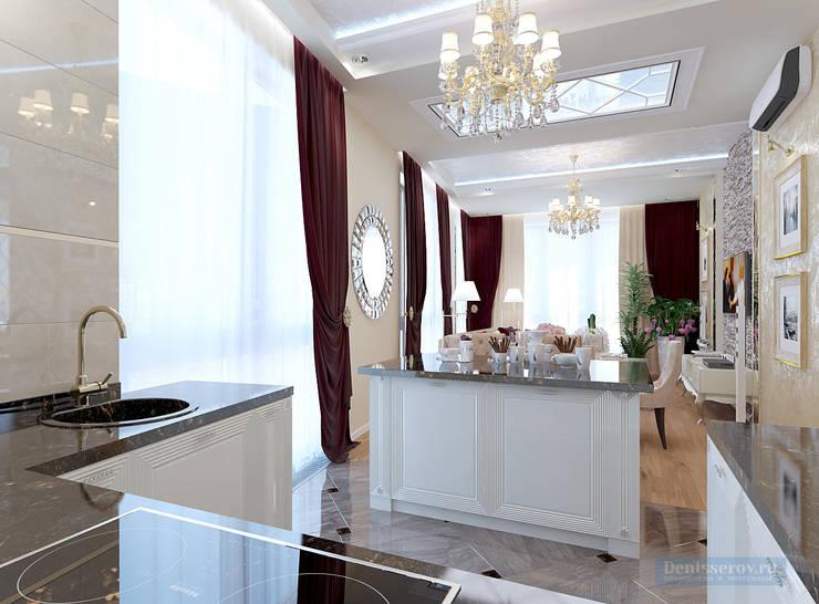 Kitchen by Студия интерьера Дениса Серова, Classic