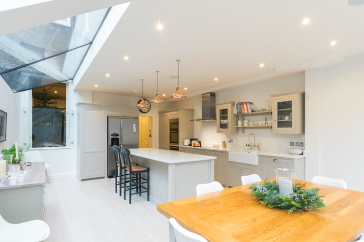 Major renovation, extension and loft. Fulham W6: modern Kitchen by TOTUS