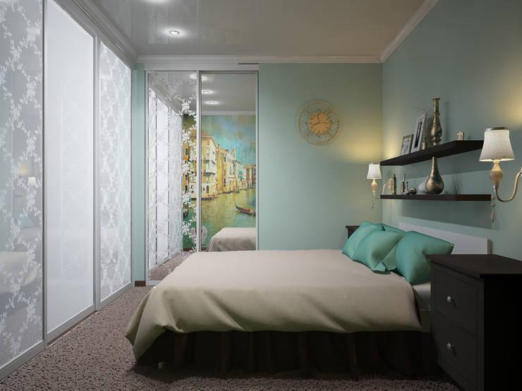 غرفة نوم تنفيذ ARTWAY центр профессиональных дизайнеров и строителей