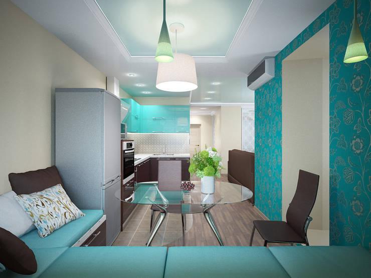 مطبخ تنفيذ ARTWAY центр профессиональных дизайнеров и строителей