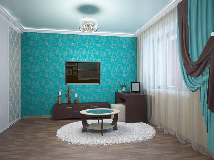 غرفة المعيشة تنفيذ ARTWAY центр профессиональных дизайнеров и строителей