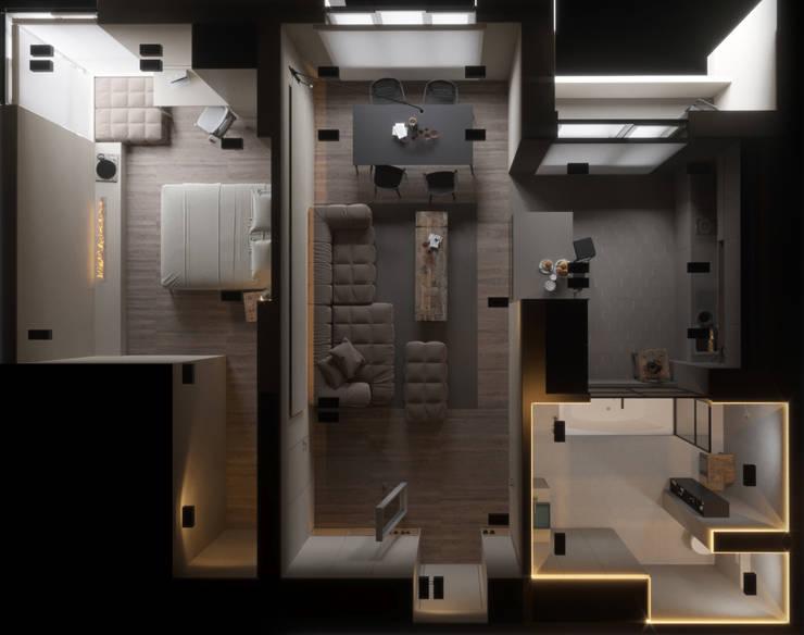 Projekty,   zaprojektowane przez IGOR SIROTOV ARCHITECTS