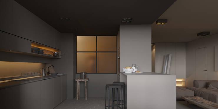 Projekty,  Kuchnia zaprojektowane przez IGOR SIROTOV ARCHITECTS