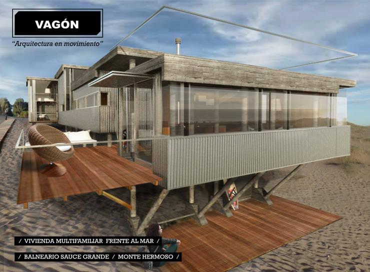 3 casas frente al mar vagon arquitectura en movimiento for Casa moderno kl