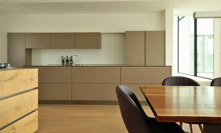 Design Küche: modern  von Beer GmbH,Modern Holzwerkstoff Transparent