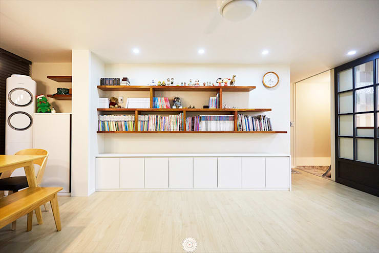 Ruang Keluarga by 제이앤예림design