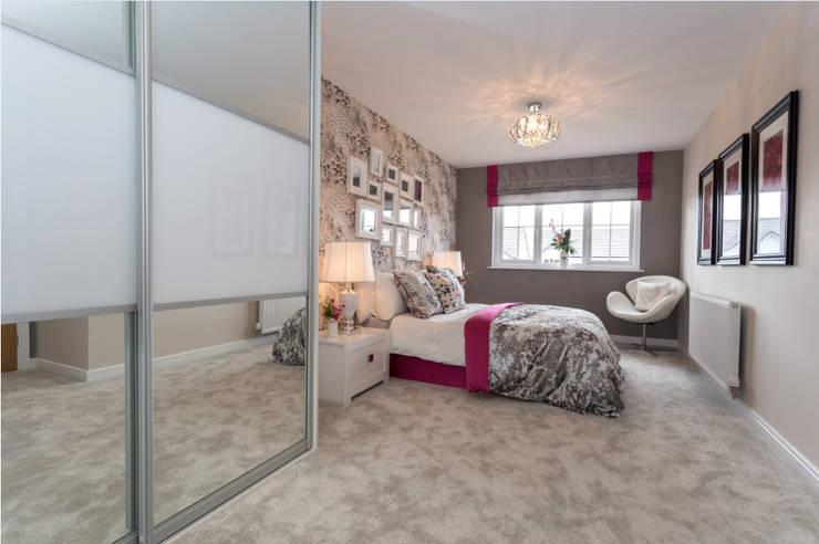 غرفة نوم تنفيذ Graeme Fuller Design Ltd
