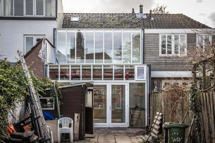 Achtergevel:  Huizen door architectenbureau Huib Koman (abHK)