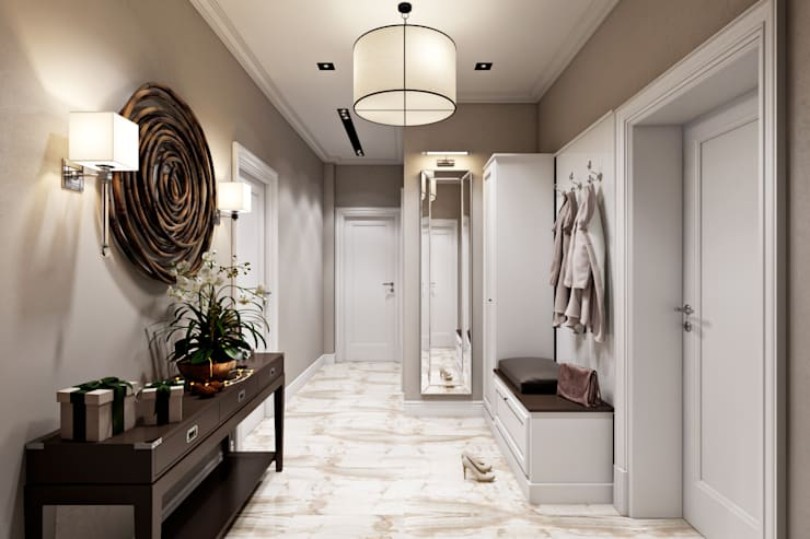Corridor & hallway by Дарья Баранович Дизайн Интерьера