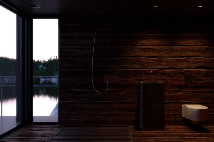 ПРОЕКТИРОВАНИЕ И ДИЗАЙН ИНТЕРЬЕРА PS1H: Ванные комнаты в . Автор – IGOR SIROTOV ARCHITECTS