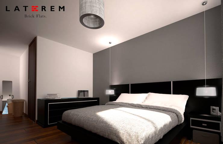 MASTER BEDROOM: Recámaras de estilo  por Del Castillo Arquitectos