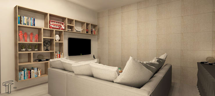 Living room by TAMEN arquitectura