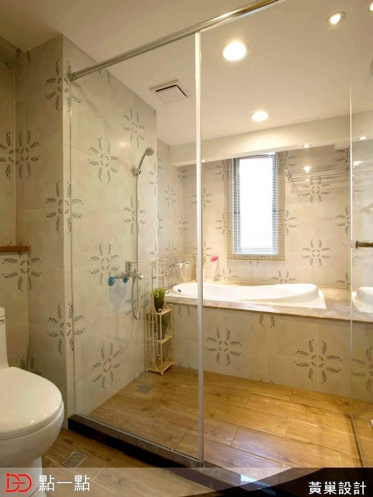 黃巢空間設計:  浴室 by iDiD點一點設計