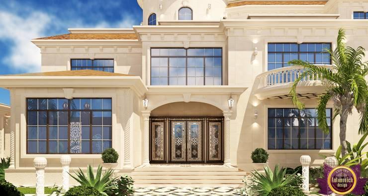 Luxury Exterior design of Katrina Antonovich:  Houses by Luxury Antonovich Design