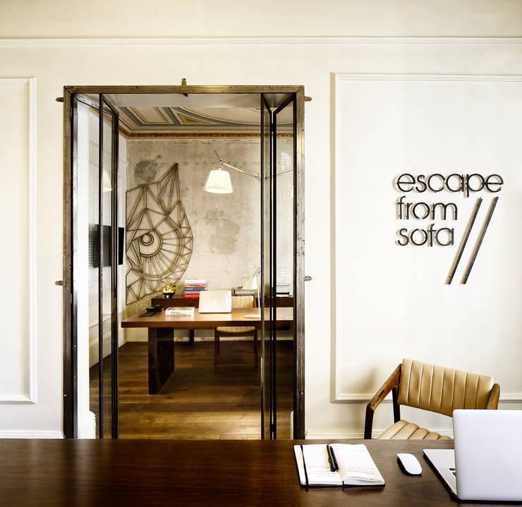 Bangunan Kantor Gaya Eklektik Oleh Escapefromsofa Eklektik
