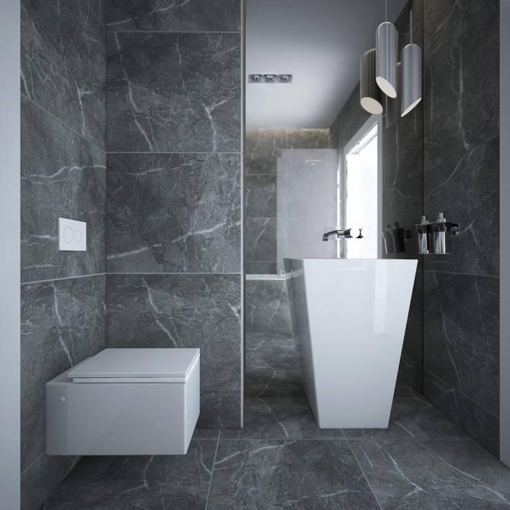 Baños de estilo  por maakk studio