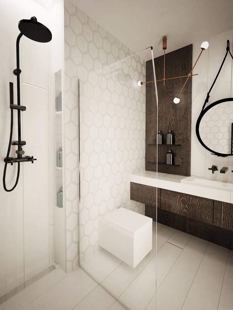 łazienka Z Motywem Drewna Profesjonalista Maakk Studio