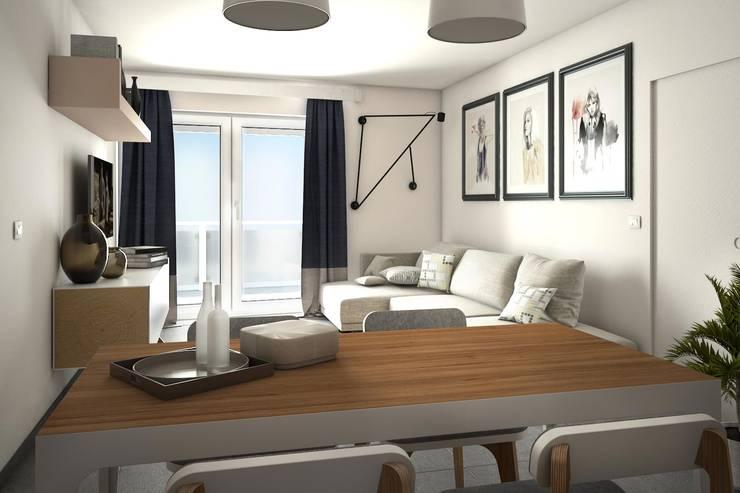 Progettazione arredo interni / rendering:  in stile  di M88 studio