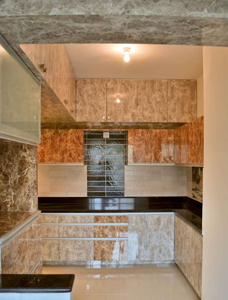 SPI Interiors:  Kitchen by Space Collage