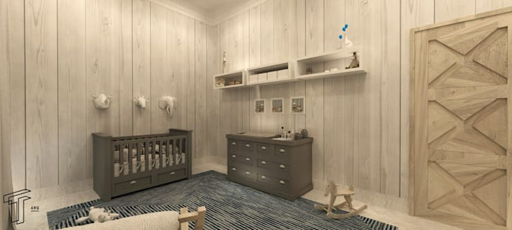 Nursery/kid's room by TAMEN arquitectura
