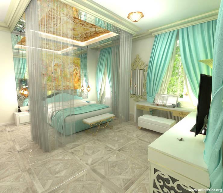 غرفة نوم تنفيذ A&D-interior