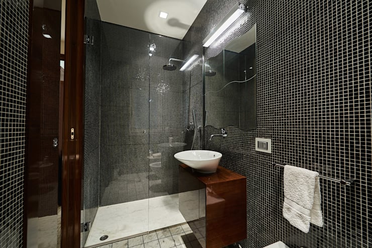 modern Bathroom by Zeno Pucci+Architects