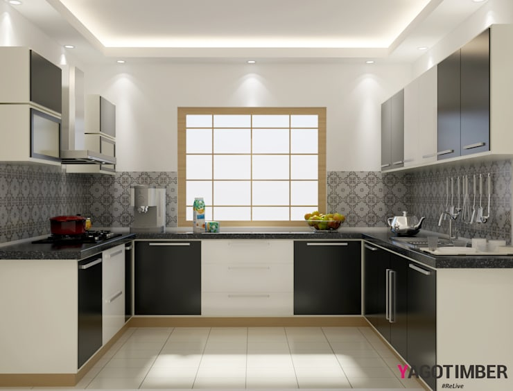 U Shaped Kitchen By Yagotimber