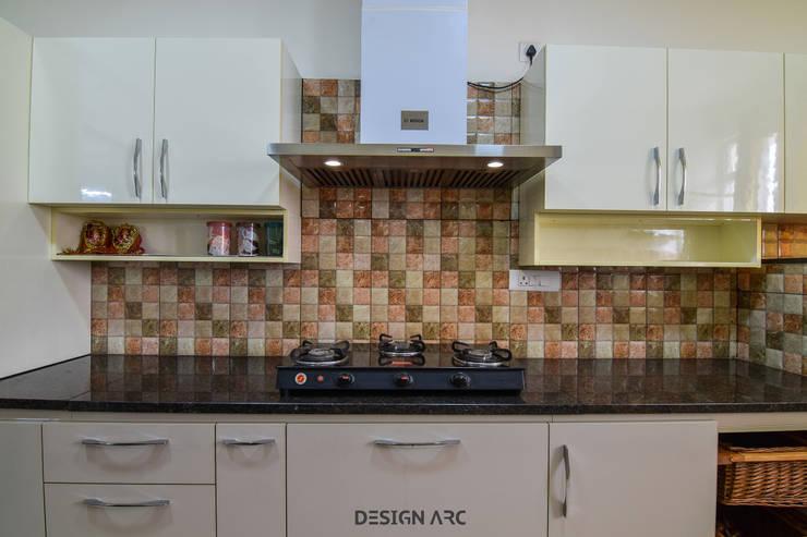 Interior Design Bangalore 2BHK Apartment :  Kitchen by Design Arc Interiors