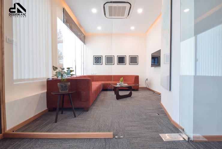 Painted craftsmanship:   by Design Arc Interiors
