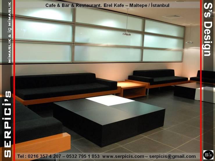 de SERPİCİ's Mimarlık ve İç Mimarlık Architecture and INTERIOR DESIGN Moderno Piedra
